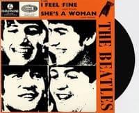 THE BEATLES I Feel Fine Vinyl Record 7 Inch Parlophone 2019